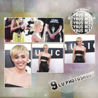 Miley Cyrus MTV Photopack by MelissaLovesDance