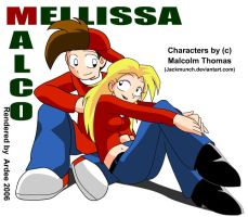 Malco and Mellissa by NeoSlashott
