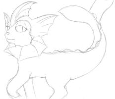 vaporeon revisited by Brownie-Bytes