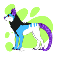 Opossum dog adopt auction! by Lodidah