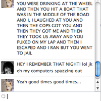 Ivy and I on facebook by NeonDance123
