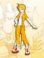 Tails - Human Form by Sonic-Team-Fan-Club
