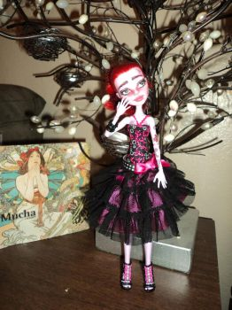 OOAK Monster High Repaint: Operetta by jlaynaeb