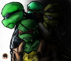 TMNT V: Future by MessedUpEssy