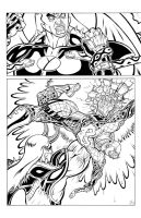 MAJESTIC XII PAGE 5 INKED by MAJESTIC-XII-COMIC