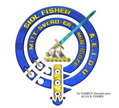 The Crest Badget of Clan Fisher by AloisFisher