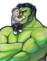 Hulk and Kid NYCC 2012 by ComfortLove