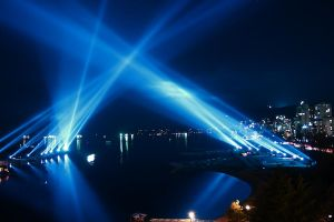 Vectorial Vancouver Light Show by CANCANGOR