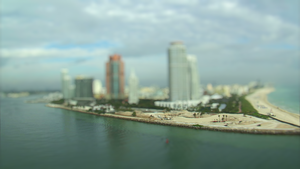 Tilt Shift Miami Beach by MobyMotion