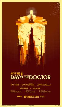 Day of the Doctor by hyperlixir