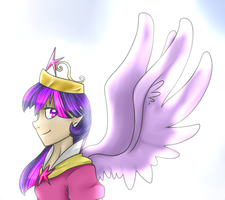 [REQUEST] Humanized Alicorn Twilight Sparkle by Oscarina1234