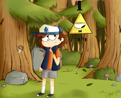Down in the forest by cipher-pines