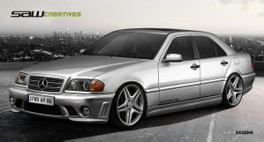 Mercedes Benz C Class 1999 by yasiddesign