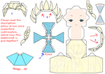 Elsa Papercraft Template (Disney Frozen) by groncaloncia