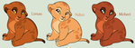 Cute Baby Lion Cub Adoptables *CLOSED* by acornheart465