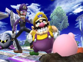 Wario and Waluigi by GoodWoWPlayer