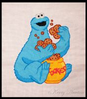 Cookie Monster by KezzaLN