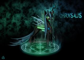Chrysalis, Queen of Changelings by Taliesin-the-dragoon