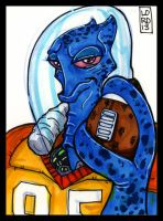 Sketch Card-A-Day 2013: 038 by lordmesa