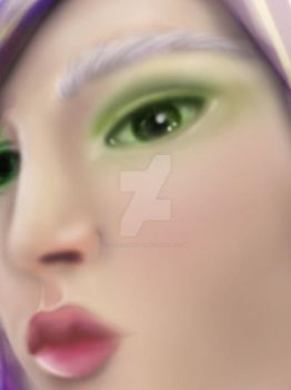 Shiren: WIP I by SkeletonQueen