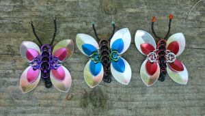 Chainmail Butterflies by squanpie