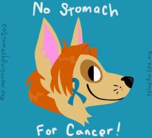 No Stomach For Cancer! by the-fox-after-dark