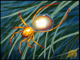 Light Diving Bell Spider Adoptable by shorty-antics-27
