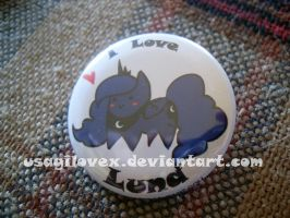 LOVE LUNA button by UsagiLovex