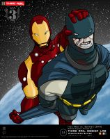 TRDL 2011- Batman vs Iron Man by TRDLcomics