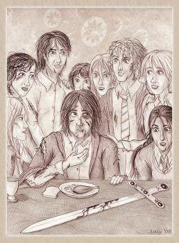 After the battle- Neville by Loony-Lucy