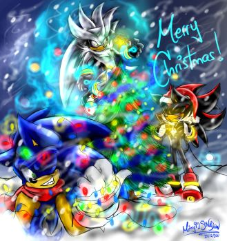 Merry Christmas 2011 by Mimy92Sonadow