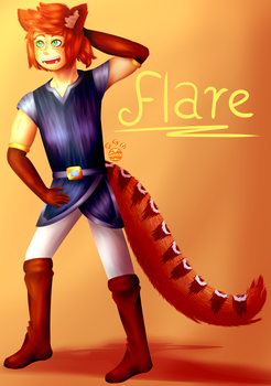 Flare   Artrade by MyDrawingSpace888