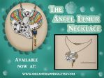 The Lemur Angel Necklace by natamon