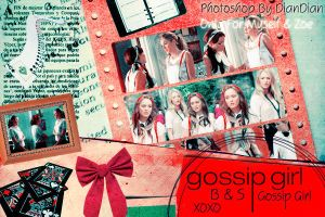 Gossip Girl Serena Blair by O-V-V-O