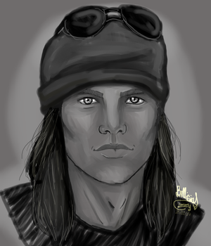 Axel Rose - G'n'R by IzzyKenway23