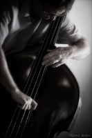 The Jazz Bassist by myrnajacobs