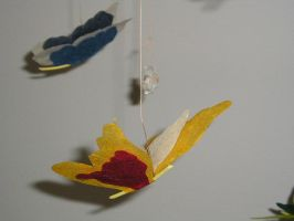Butterly Mobiles by vjnnyP