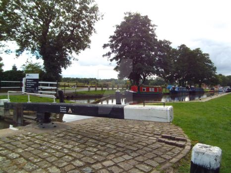 Lock at Fradley by buttercupminiatures
