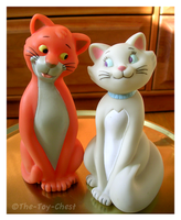 Aristocats Family - Parents by The-Toy-Chest