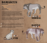 damascus ref v.3 by CorrieTsuku