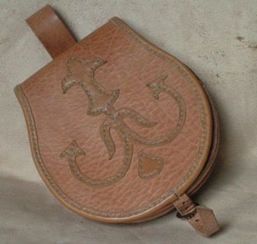 Big viking belt pouch by Haradsson
