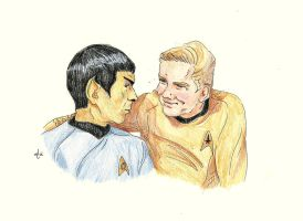 You're a very stubborn man, Mr. Spock [Galileo 7] by AloiInTheSky
