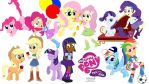 MLP Two Of A Kind: Mane Six Group Picture by NewportMuse