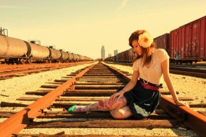 Railroad Beauty by pinkitink