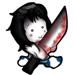 Chibi Jeff the Killer by MikoLol