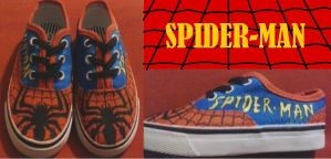 Spider-Man Shoes by Rosemev