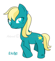 MLP OC: Etoile by Natsumi-chan0wolf