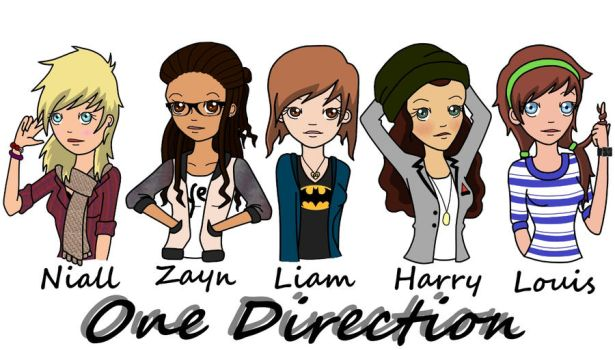 One Direction by TheCryingTiger