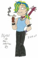 Bec-Sparrow's Nyros by scoots