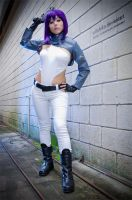 Major Motoko::::: by Witchiko